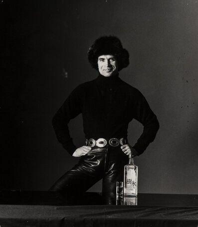 Bert Stern, 'Rudolf Nureyev, Suntory Japanese Vodka Ad', 1982