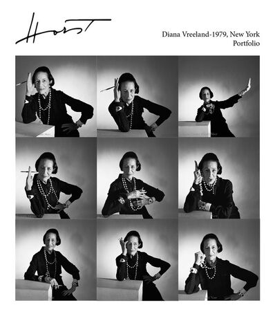 Horst P. Horst, 'Diana Vreeland, 1979, Portfolio of nine archival pigment prints in a embossed portfolio box', 1979