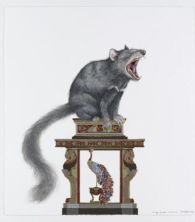 Raqib Shaw, 'Whimsy Beasties...Tashound I', 2012