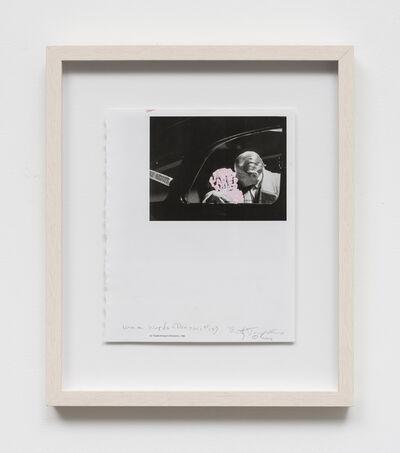 Betty Tompkins, 'Women words (Brassaï #15)', 2019