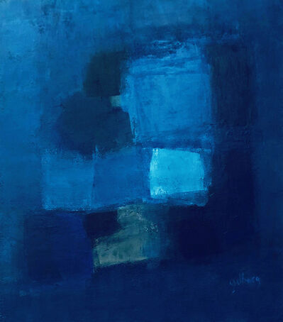 Alain Gilberg, 'Série Bleue 2', 2019
