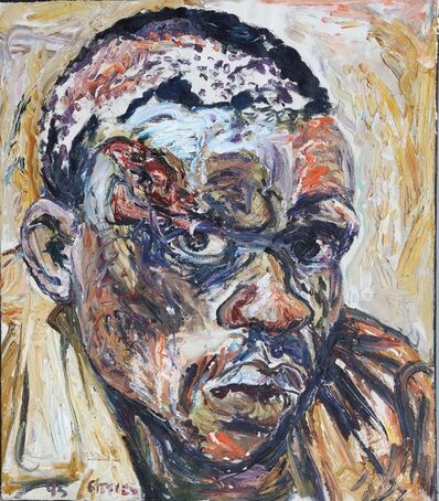 George Gittoes, 'Oil Study for Samuel', 1995