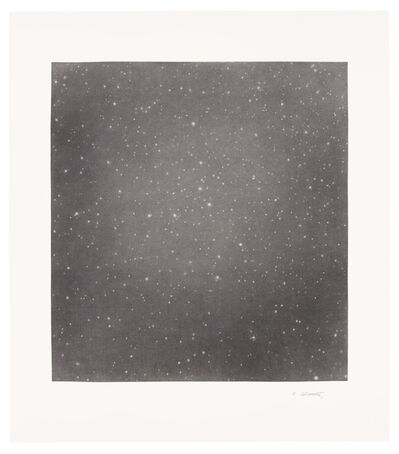 Vija Celmins, 'Untitled (Dark Sky 5)', 2016