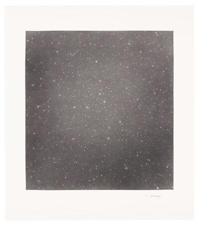 Vija Celmins, 'Untitled (Dark Sky 5)', 2016