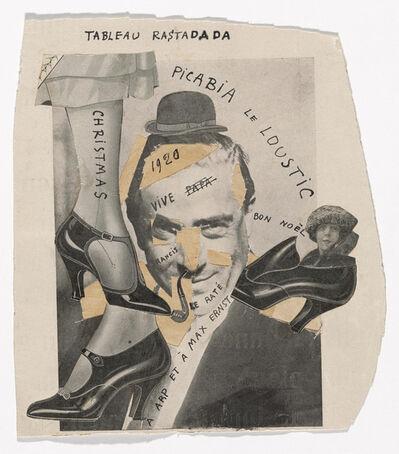 Francis Picabia, 'Tableau Rastadada', 1920