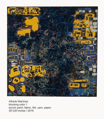 Alfredo Martinez, 'Block Color 1 ', 2019