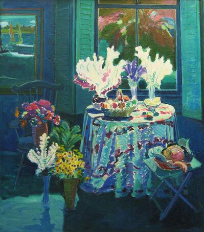 Joseph O'Sickey, 'Still Life on Round Table'