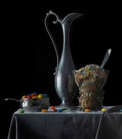 Jason de Graaf, 'Still Life with Chocolate Ice Cream', 2019
