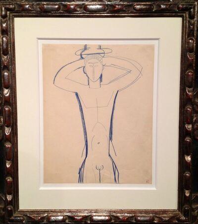 Amedeo Modigliani, 'Cariatide', 1913