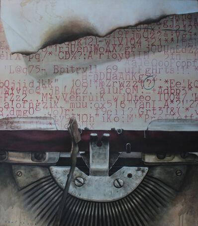 Vani Hidayatur Rahman, 'Teks Yg Tak Terbaca (Typewriter Series)', 2008