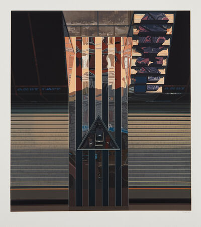 Richard Estes, 'Andy Capp', 1982