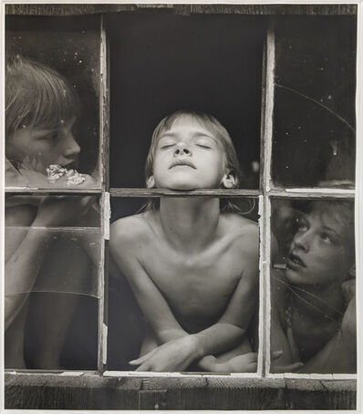 Jock Sturges, 'Christina, Misty Dawn and Alysa, Northen California', 1985