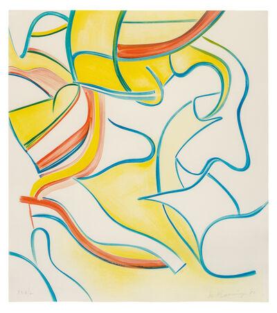 Willem de Kooning, 'Quatre Lithographies (the complete set of four works)', 1986