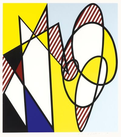 Roy Lichtenstein, 'Best Buddies', 1991