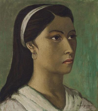Raúl Anguiano, 'Mujer', 1942