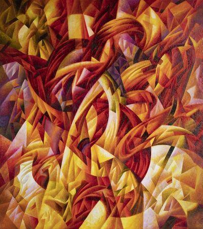Ivan Turetskyy, 'Fiery touch', 2019