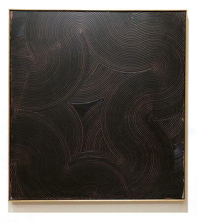 Duayne Hatchett, 'Red Line Swirl', 1990