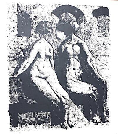 Armando Morales, 'dos desnudos', 1977