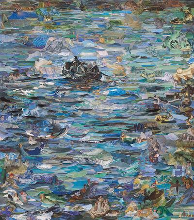 Vik Muniz, 'Repro: Musee d'Orsay (Rochefort's Escape, after Manet)', 2016