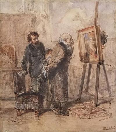 Clement-Auguste Andrieux, 'The Connoisseur', 1850-1970