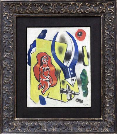 Fernand Léger, 'La danseuse rouge', 1930