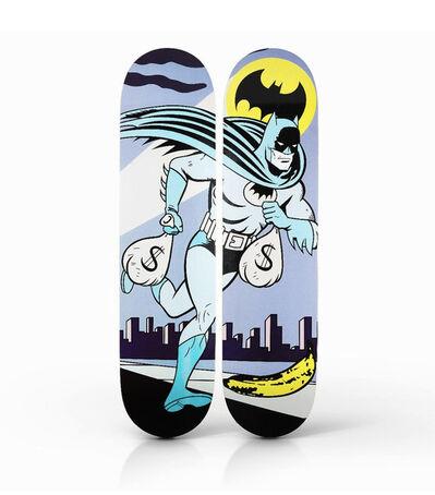 ANTOINE TAVAGLIONE, ''Alfred, Start the Car! (Batman)' Diptych Skateboard Deck Set', 2017