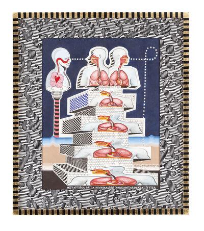 Pedro Friedeberg, 'Metafísica de la respiración ', 2016