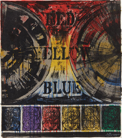 Jasper Johns, 'Untitled', 1980