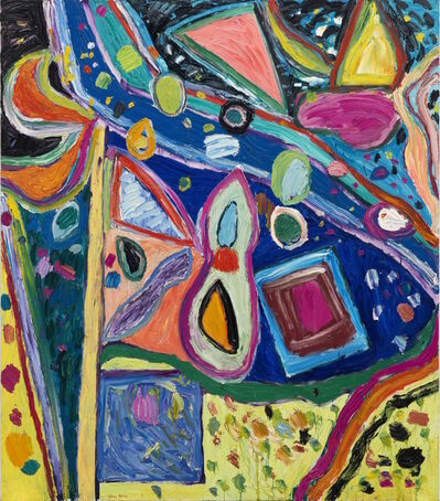Gillian Ayres, 'Untitled Rome Series I 无题(罗马系列之一)', 1997