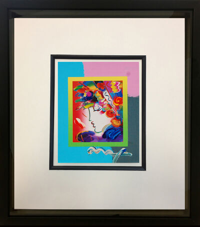 Peter Max, 'Blushing Beauty on Blends 2007 #2260', 2007