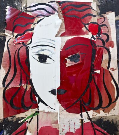 Manolo Valdés, 'Matisse como Pretexto Rojo y Carmin', 2018