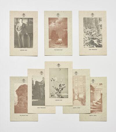 Gilbert and George, 'Three works: i) Gentlemen (Postal Sculpture); ii) Eight part Postal Sculpture: Pink Elephants; iii) Eight part Postal Sculpture: Red Boxers'