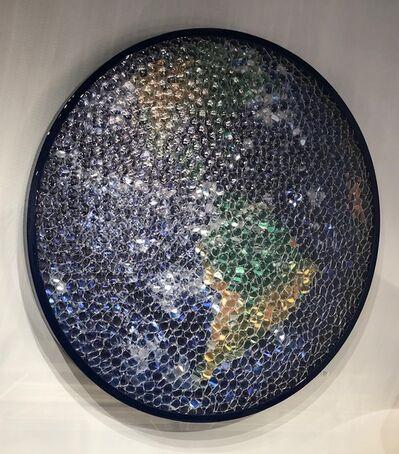 David Datuna, 'Blue Planet', 2017