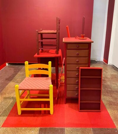 Amie Cunat, 'Ochre Room', 2018