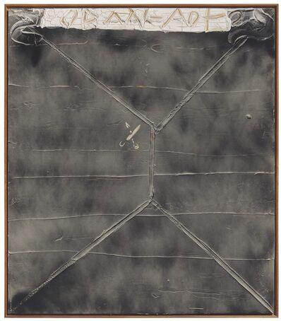Antoni Tàpies, 'Imprenta de Tisores (Imprint of Scissors)', 1987