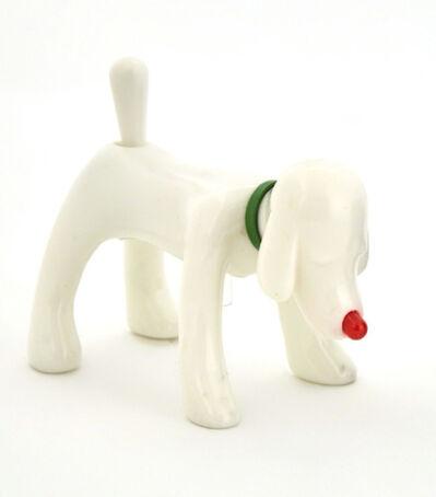 Yoshitomo Nara, 'Shinning Doggy White', 2015