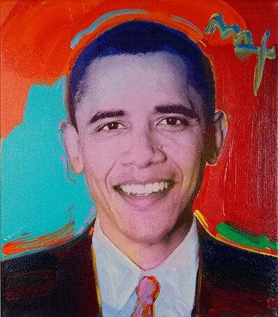 Peter Max, 'Obama to the Max'