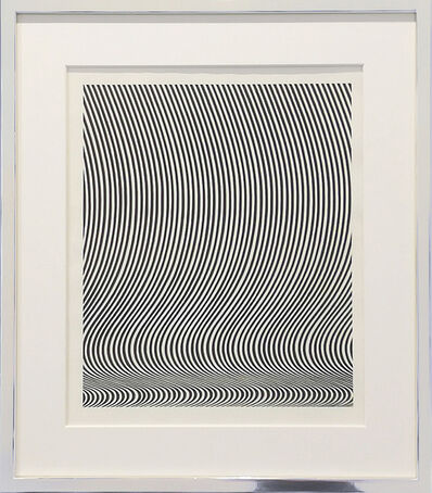 Bridget Riley, 'Cover für Art International', 1967