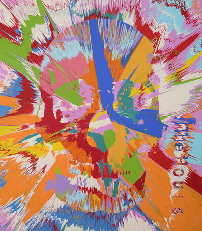 Damien Hirst, 'Beautiful hours spin painting II', 2008