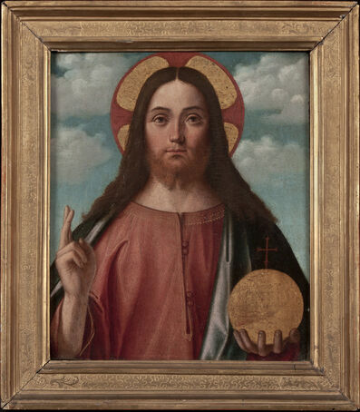 Vittore Carpaccio, 'Christ Blessing (Christ as Salvator Mundi)', 1507-1508