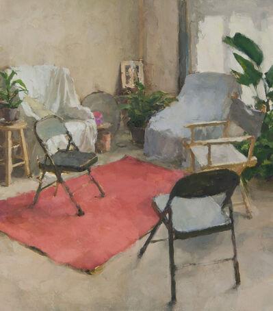 Jordan Wolfson, 'Interior with Five Chairs VII'