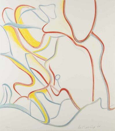 Willem de Kooning, 'Abstract Composition', 1986