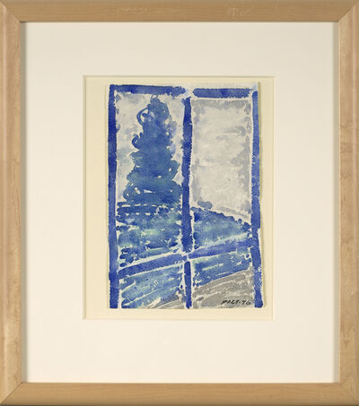 Stephen Pace, 'Untitled (Blue Window)', 1976