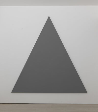 Alan Charlton, 'Triangle Painting No. 3', 2013