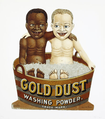 Hank Willis Thomas, 'Gold Dust Tub', 2011