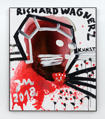 "Jonathan Meese, 'HEY, RICHARD WAGNER'S ""DISCO"" IST FULL!', 2018"