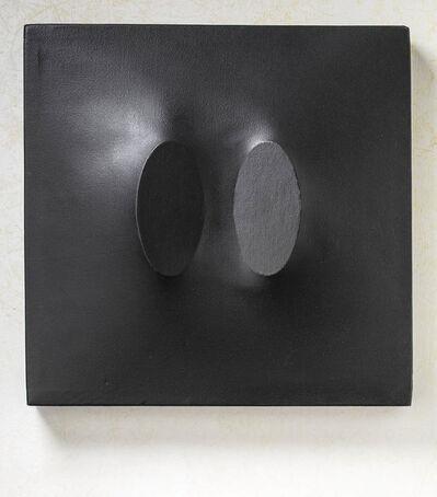 Turi Simeti, '2 ovali neri', 1967