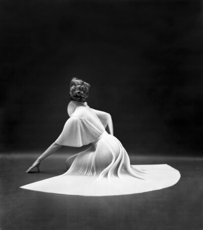 Mark Shaw, 'Vanity Fair Pleated Capelet Seated Back', 1950