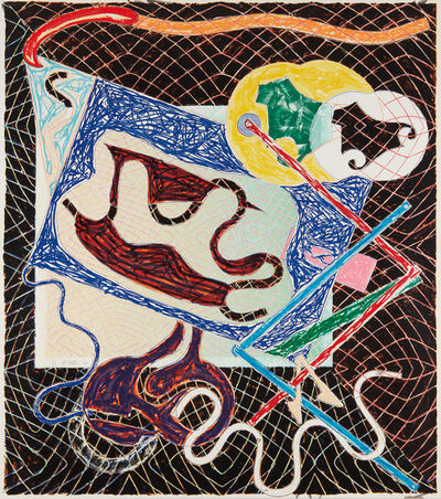 Frank Stella, 'Shards Variant IIIa, from Shards', 1982