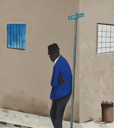 Sam Nhlengethwa, 'Definitely Waiting for Someone', 2018